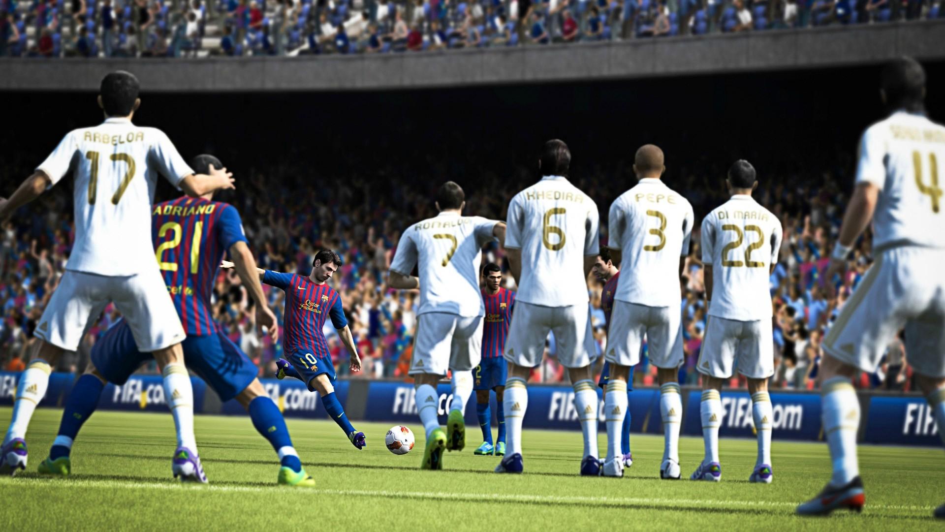 FIFA 13 Barcelona Real Madrid