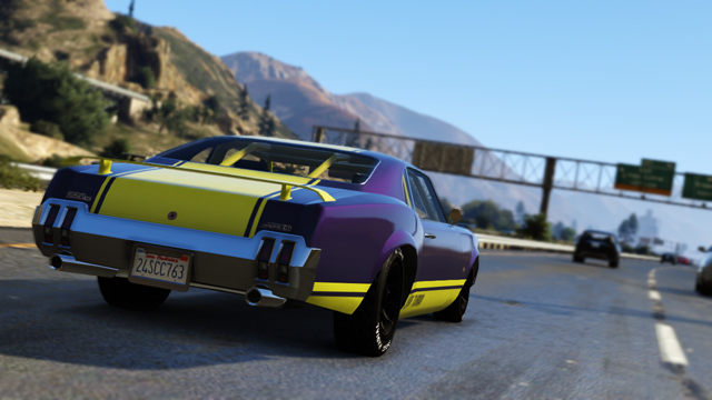 Screenshot GTA 5 auto