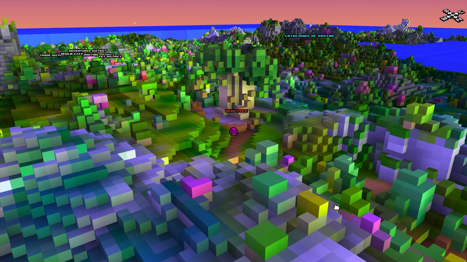Cube World wereld
