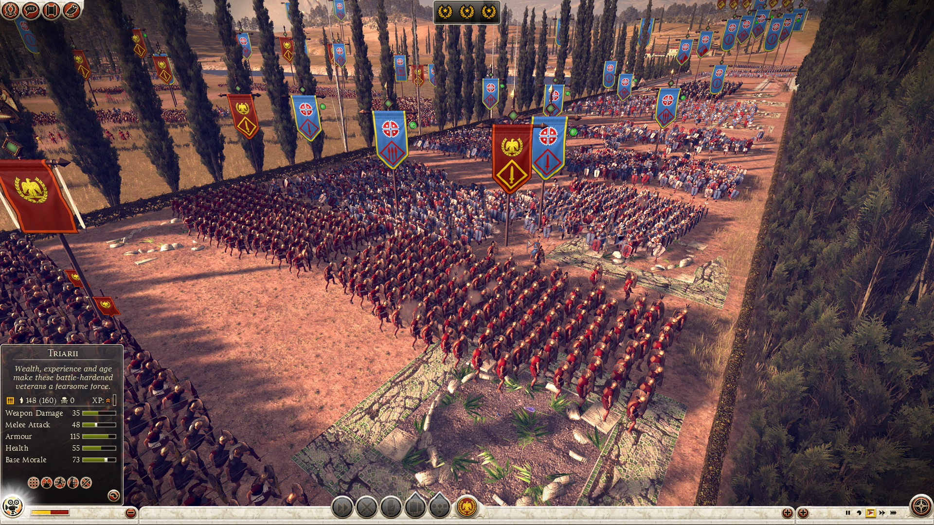 Total War: Rome 2 formaties