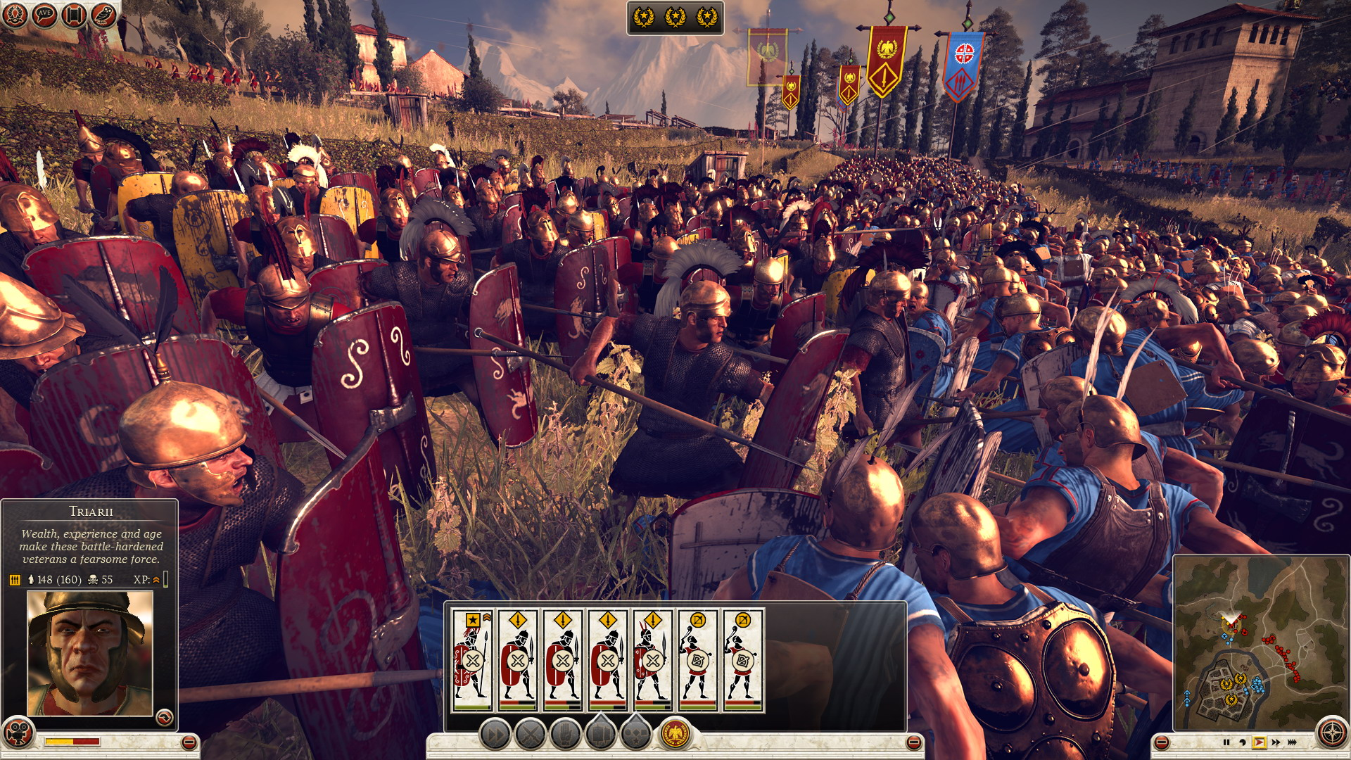 Total War: Rome 2 line of sight