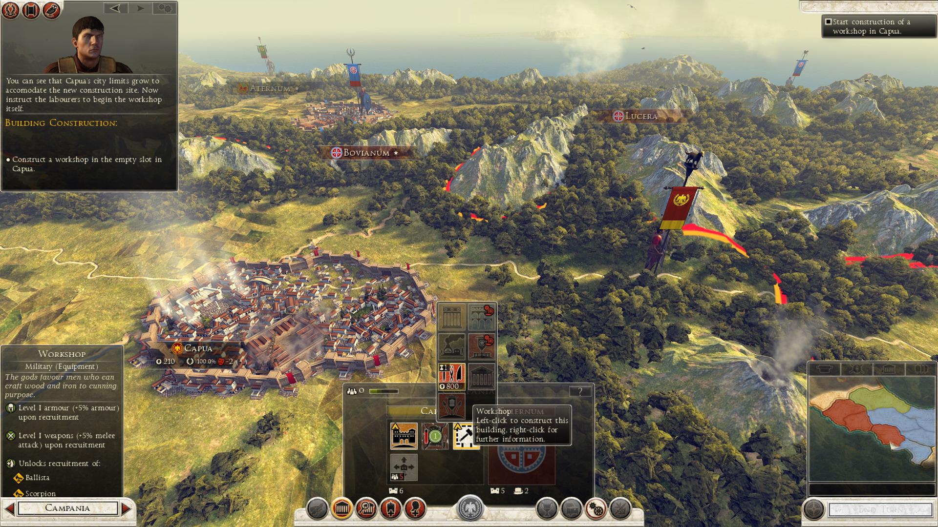 Rome 2 campaign