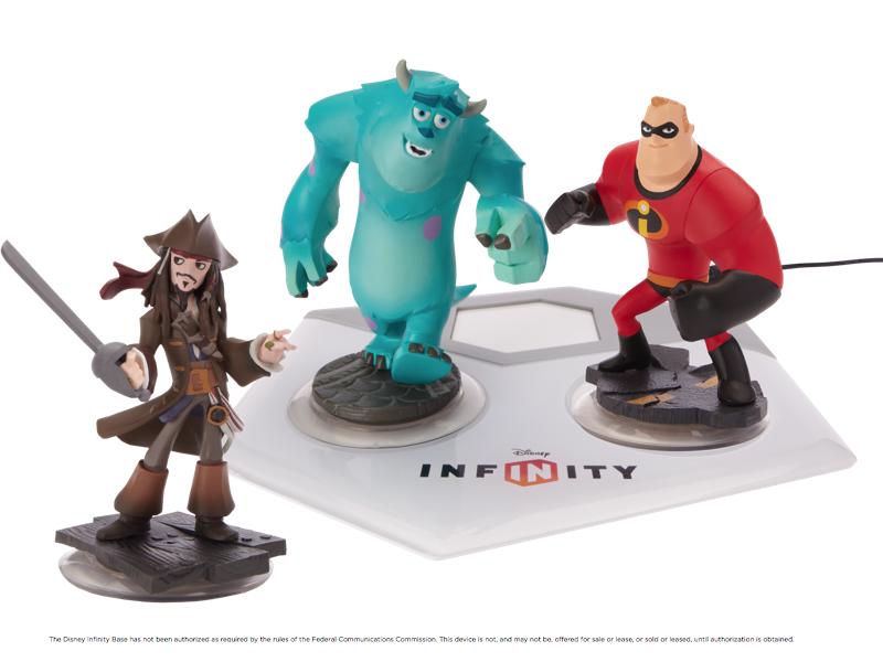 Disney Infinity met Jack Sparrow, Sully en Mr. Incredible