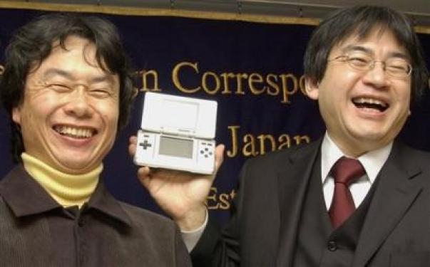 Miyamoto en Iwata