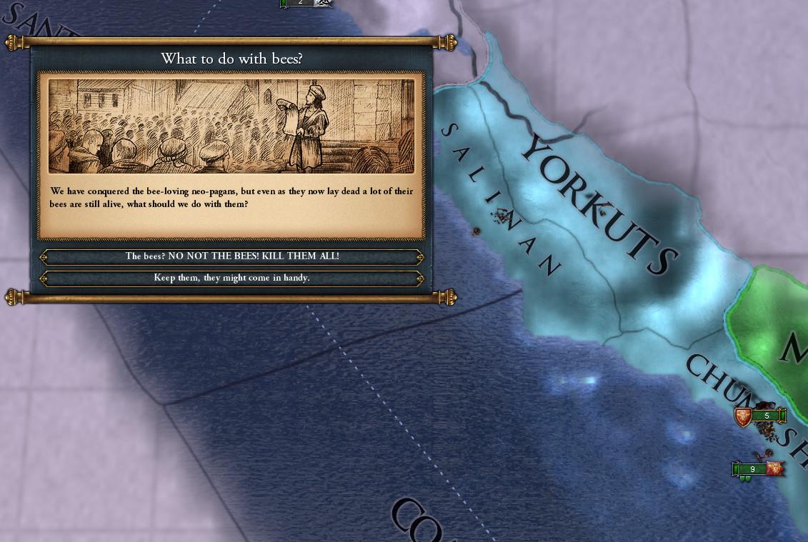 Empire of the Cage mod EU IV