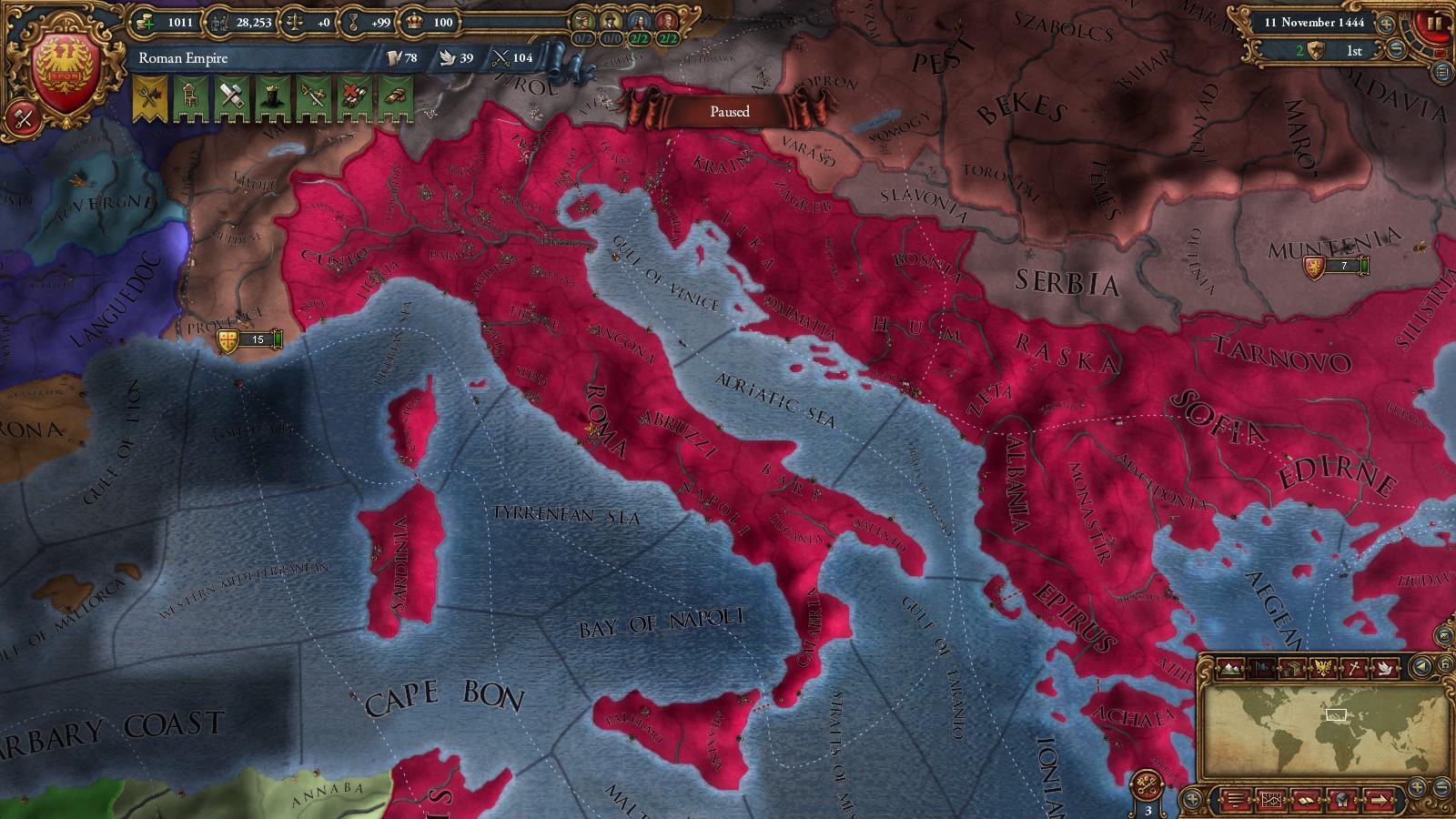 Roman Empire mod EU IV