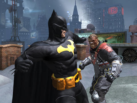 Batman Arkham Origins voor iPad