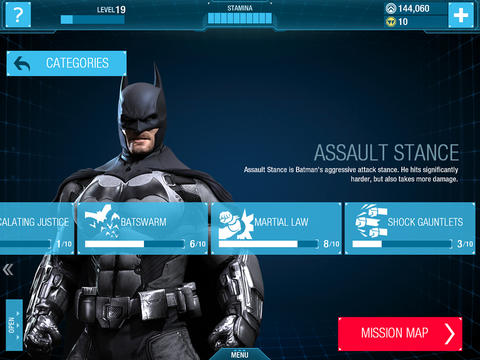 Batman: Arkham Origins voor iPad
