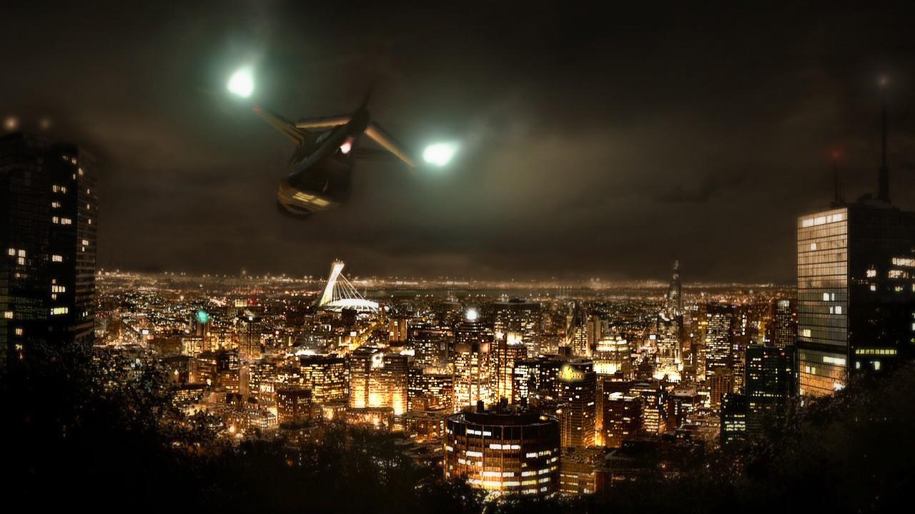 Montreal in Deus Ex