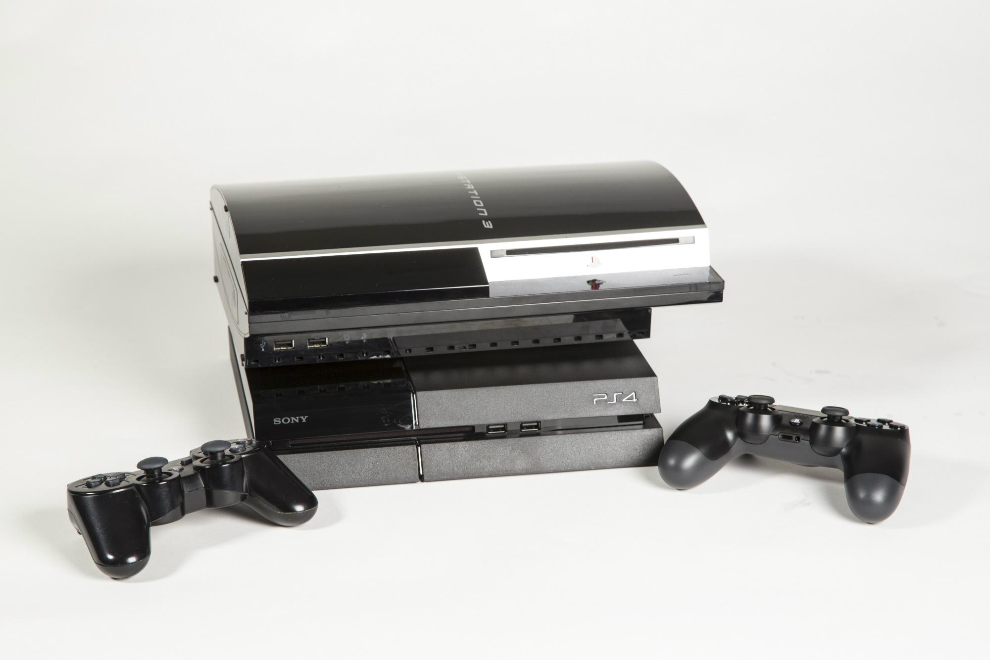 De PS3 op de PS4