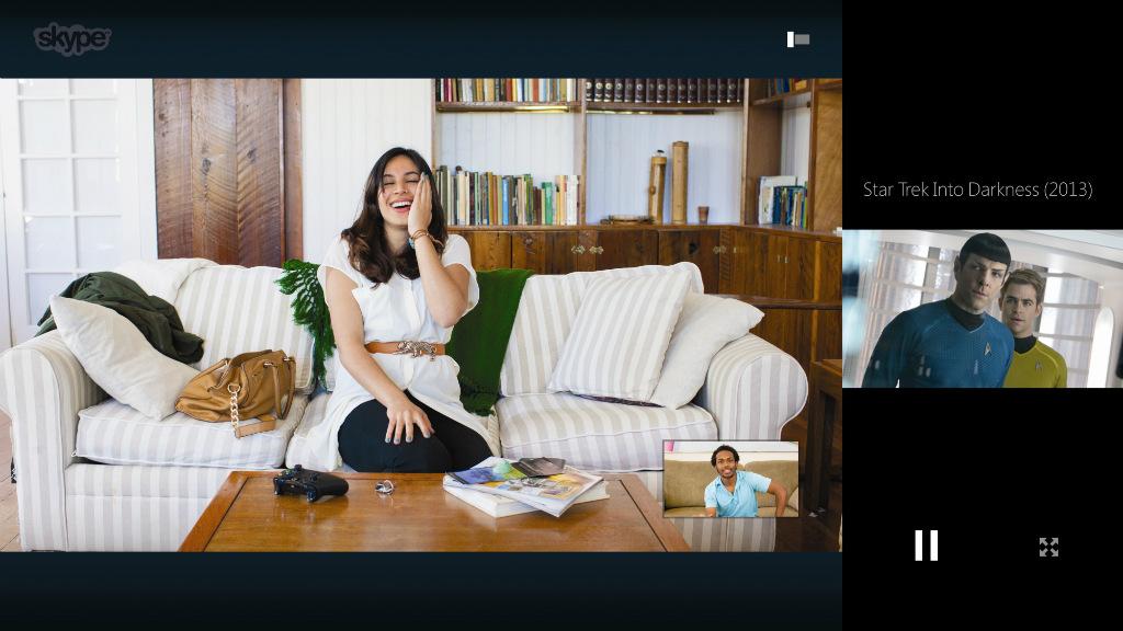 Skype op Xbox One