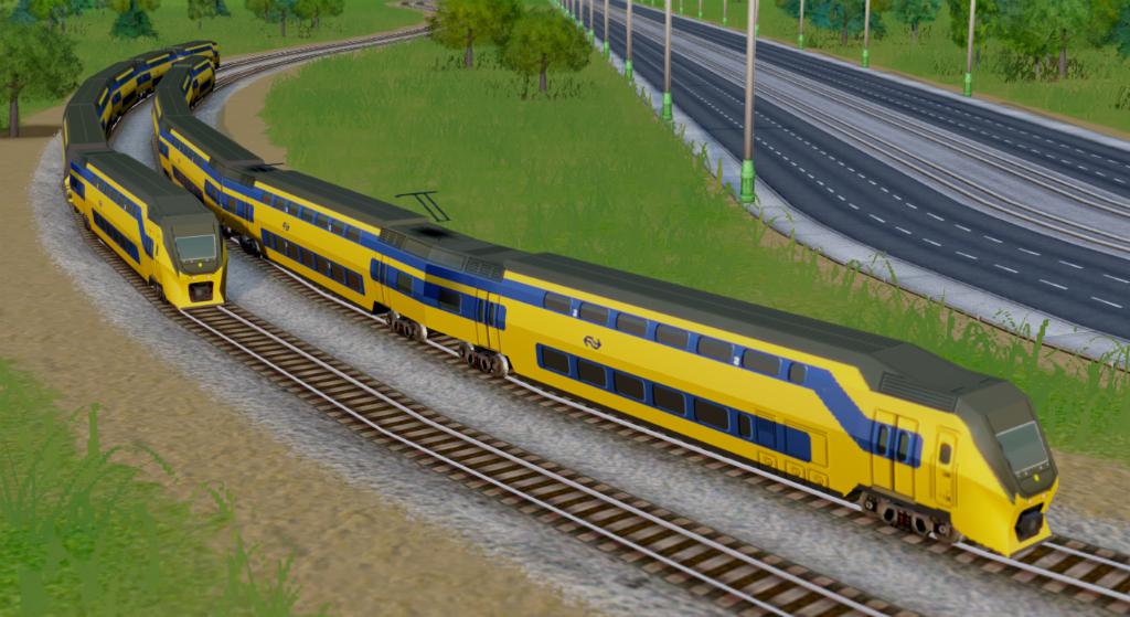 SimCity mods NS trein