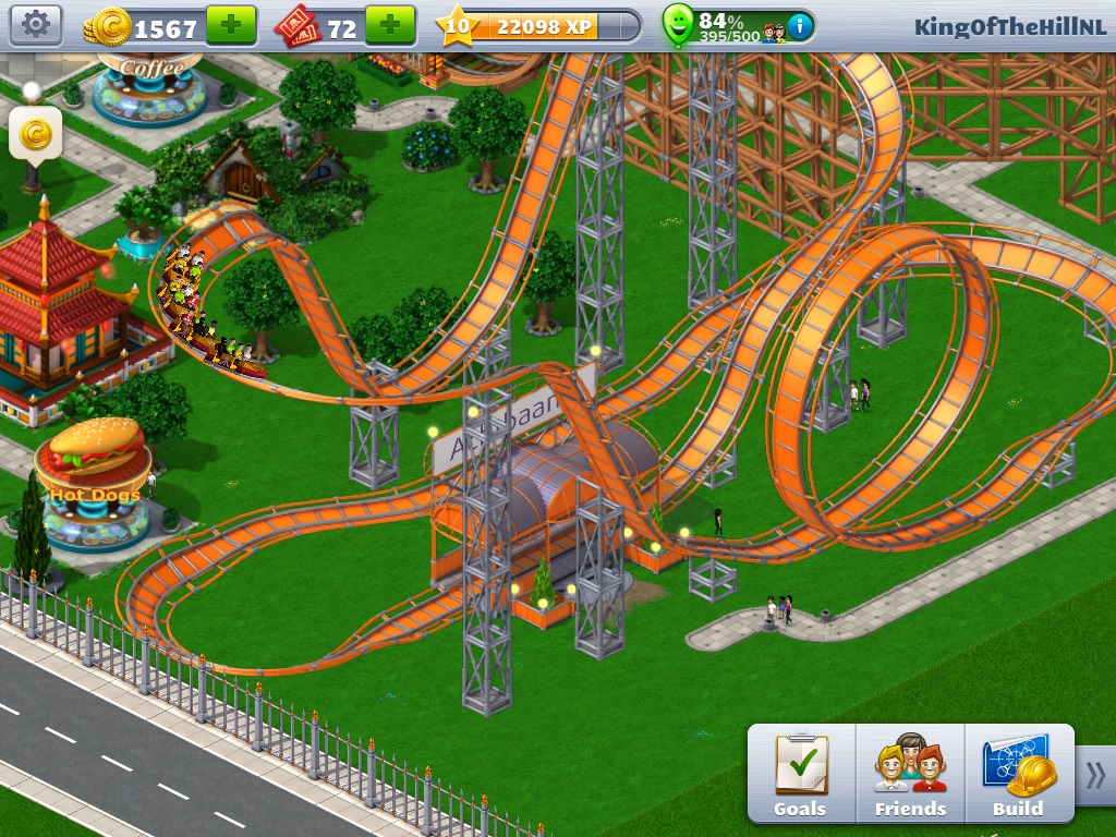 Rollercoaster Tycoon 4 Mobile Review