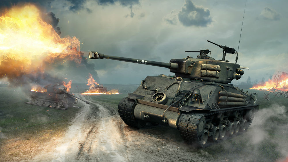 World of Tanks Fury
